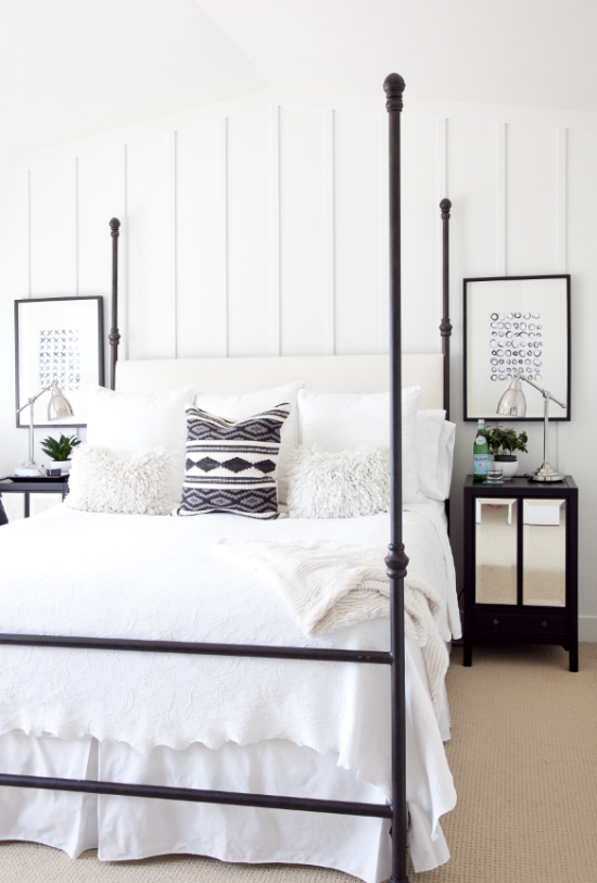 Sarahs Master Bedroom Makeover Reveal Boxwood Clippings Modern Farmhouse Chic