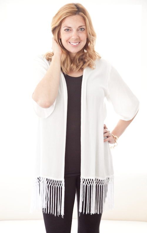 summer cardi from nordstrom | boxwood clippings