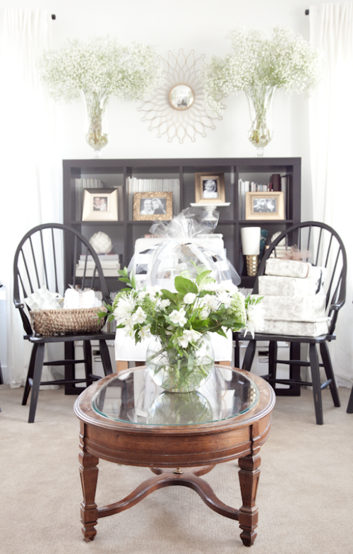 boxwood clippings | greenery bridal shower