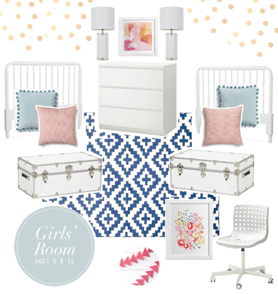 boxwood clippings | tween girls bedroom decor