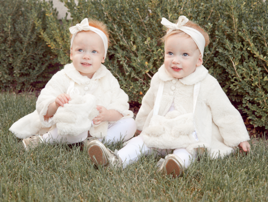 boxwood clippings | baby girls bunnies by the bay