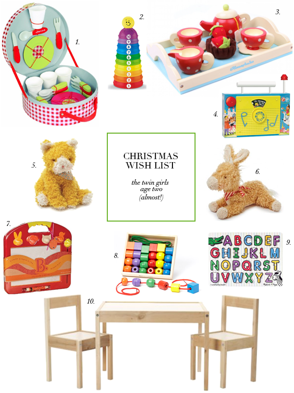 boxwood clippings | holiday gifts | toddler toys