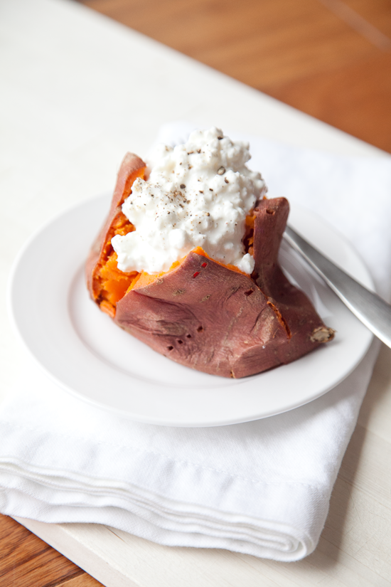 boxwood clippings | baked sweet potatoes