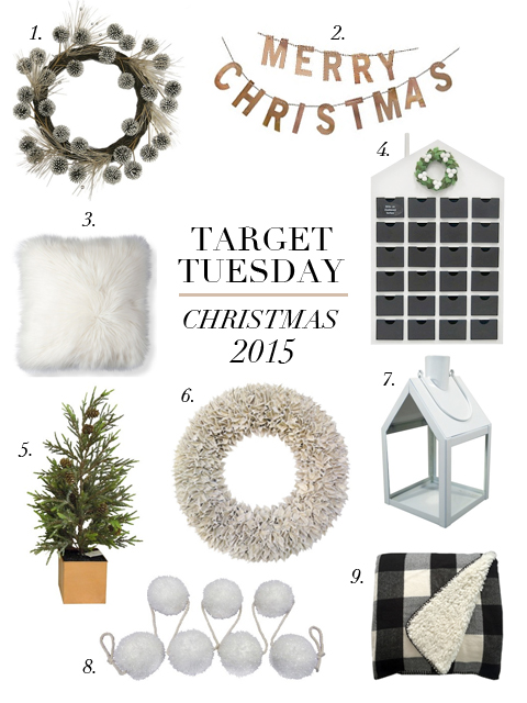 boxwood clippings | target tuesday | christmas 2015