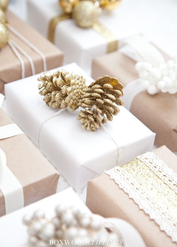 brown-gold-and-white-holler-dollar-christmas-wrap