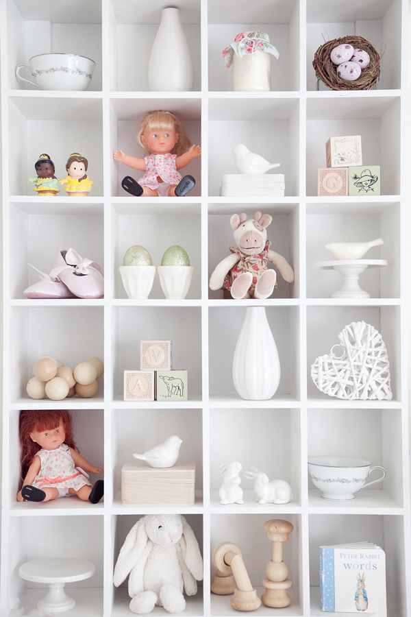 boxwood clippings | twin girls easter room