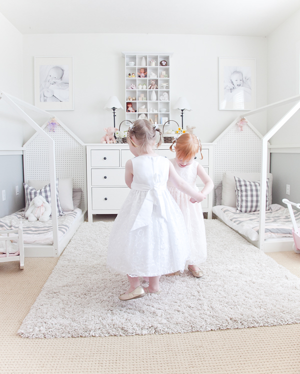 boxwood clippings | twin girls easter room 2