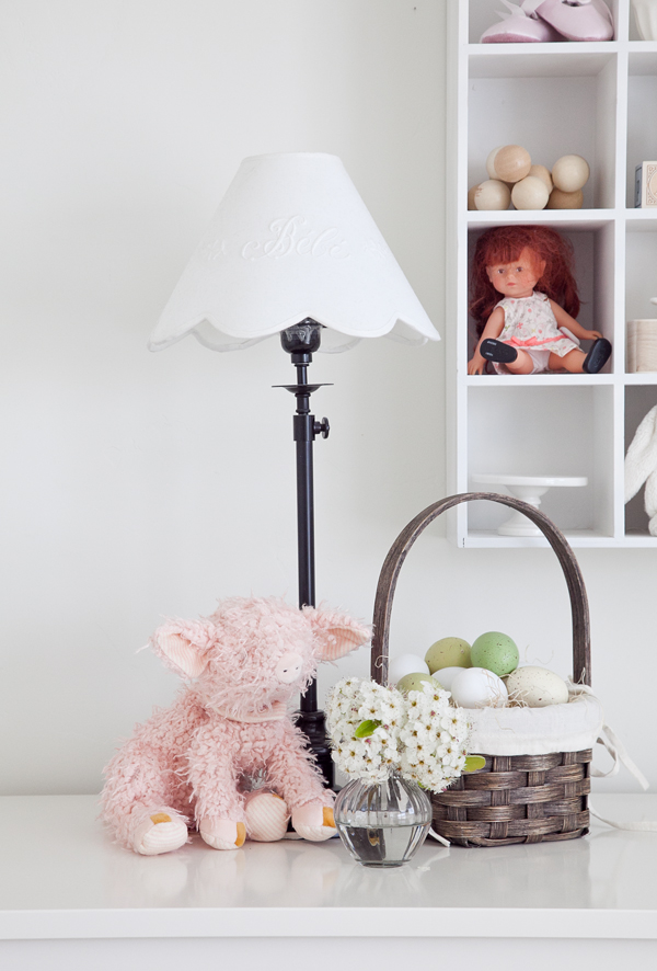 boxwood clippings | twin girls easter room 4