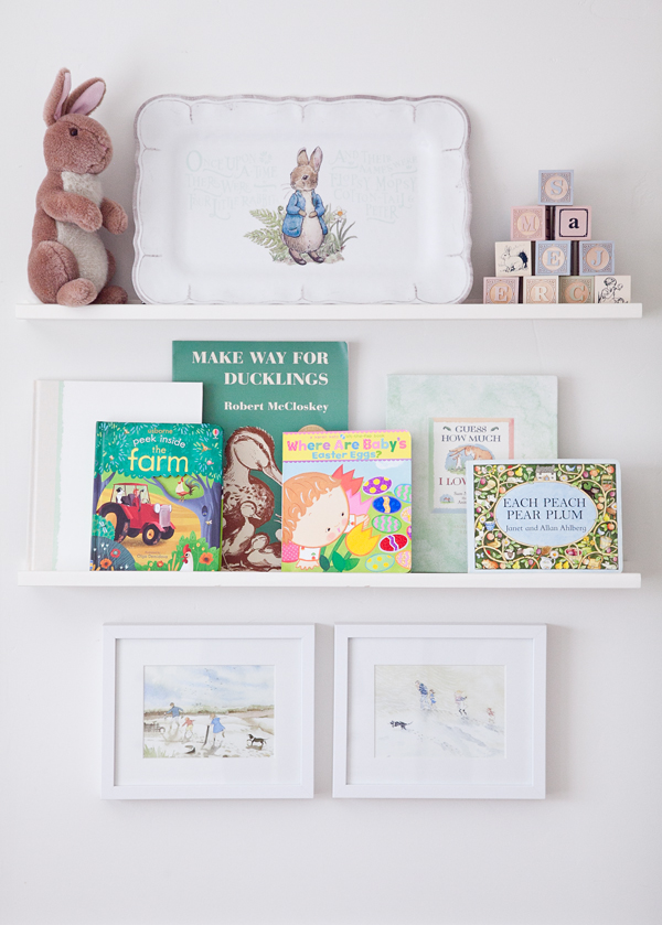 boxwood clippings | twin girls easter room 6