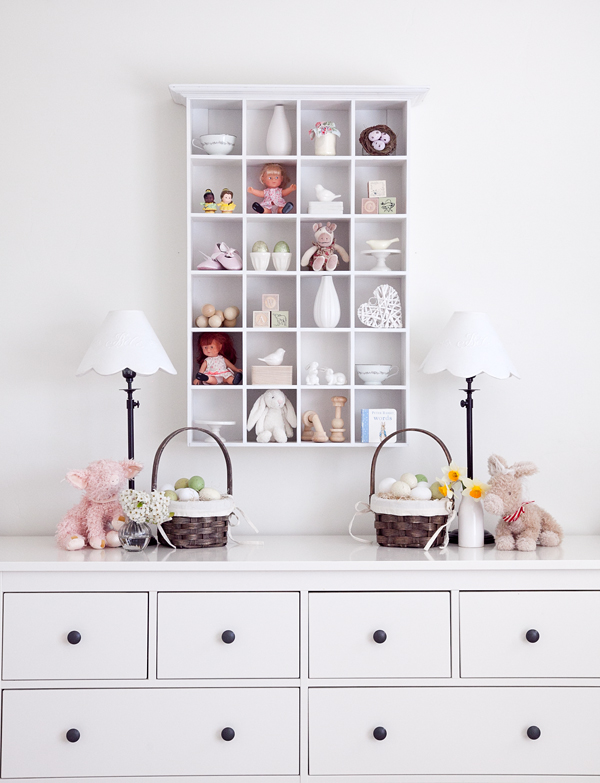boxwood clippings | twin girls easter room 7