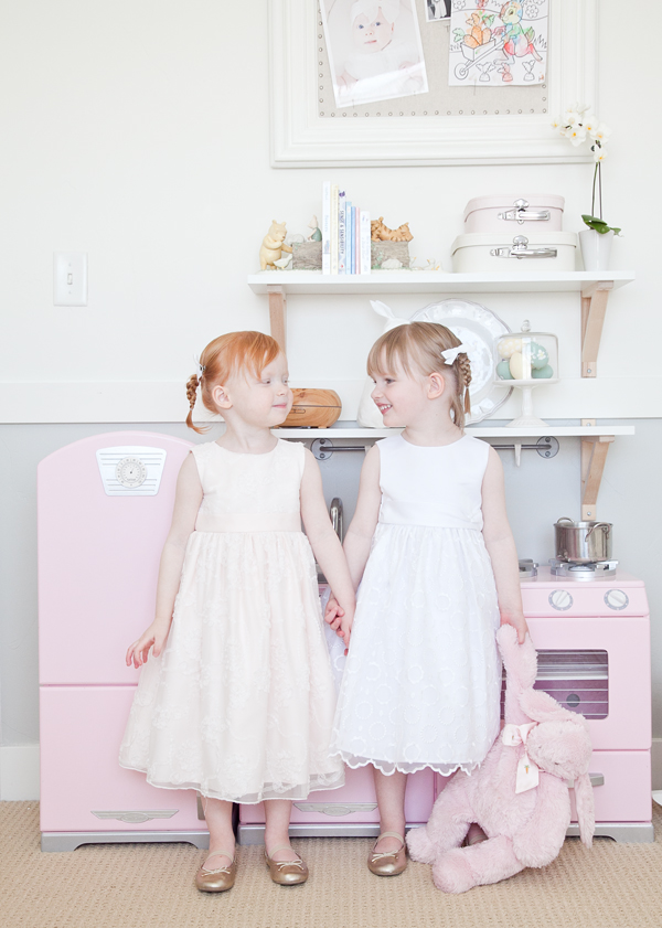 boxwood clippings | twin girls easter room 8