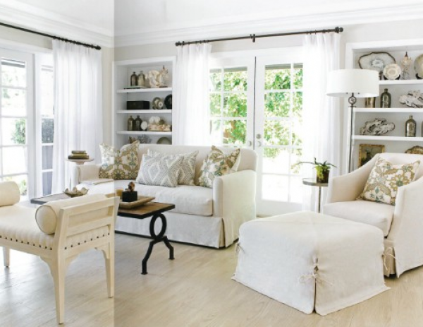white curtains in living room boxwood clippings 187 archive 187 get the look white 21567