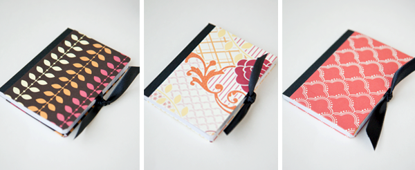 How to make these Mod Podged Notebooks from Boxwood Clippings! Such a cute idea!!