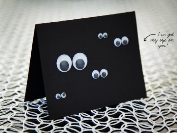 boxwood clippings_diy googly eye card