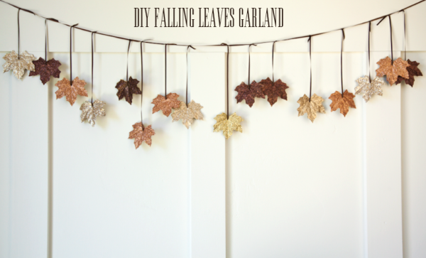 DIY Fall Leaves Garland | Creative Thanksgiving Decorations You'll Wish You'd Thought Of First